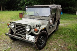 M151A2  8ナンバー放送中継車 車検 H28年4月 程度良好 スペアパーツ付