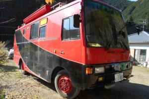 日野四駆災害支援車ベースキャンピングカー