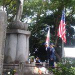 静岡浅間山日米合同慰霊祭