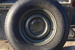 73式小型トラック用タイヤ