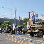 静岡ホビーショー会場向かいでの車輛展示および体験試乗会