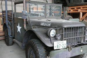 Dodge M37 B1 レストア車両